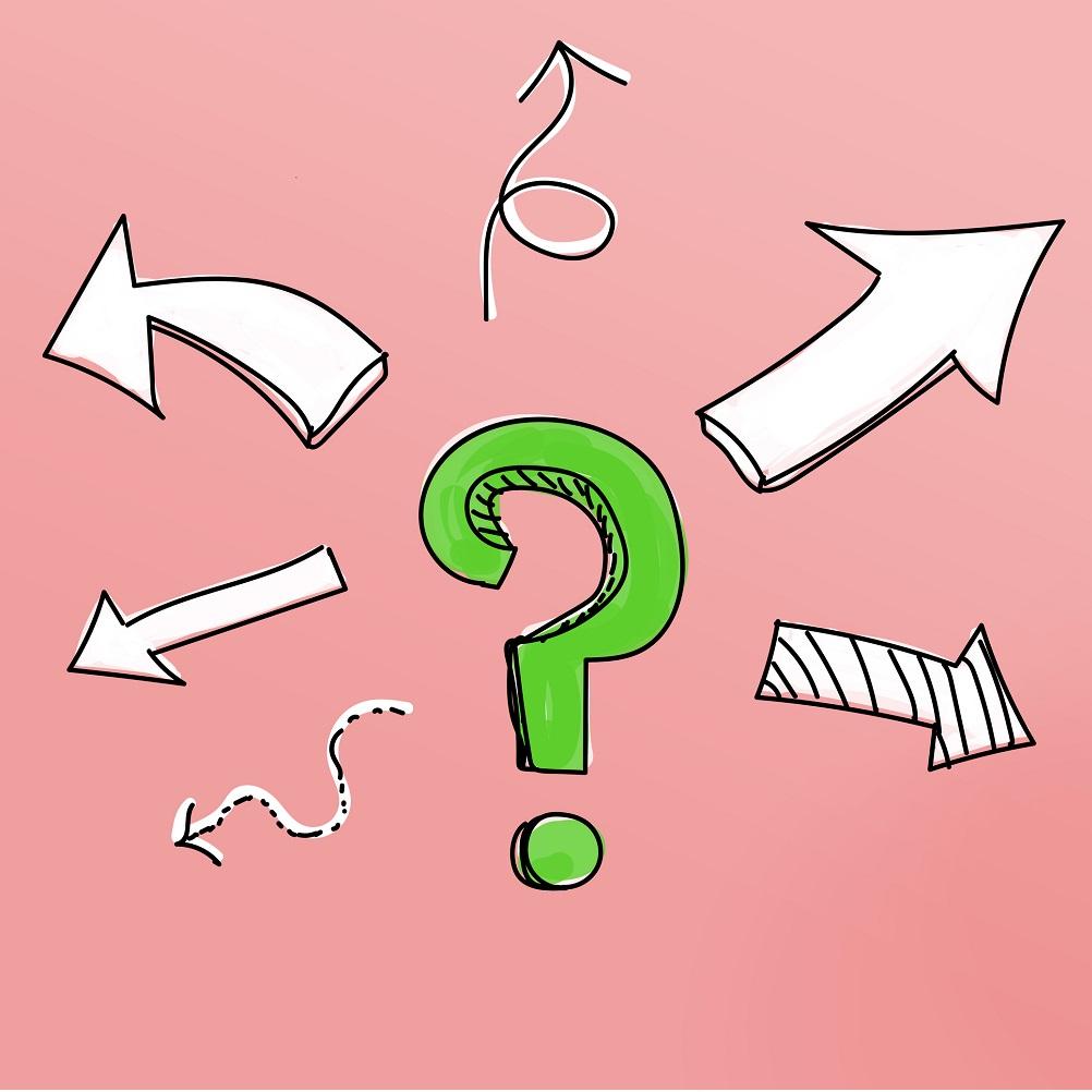 実践8質問をクリエイトするのイメージ